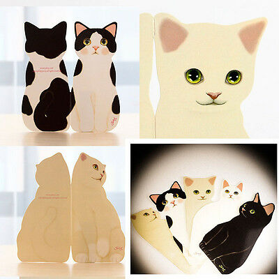 3D Standing Cute Cat Decorative Greeting Card Birthday Party Valentines Get-Well