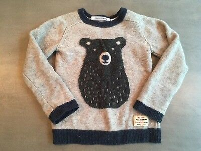 Kids Country Riad Knitted Jumper- Size 5, 100% Wool