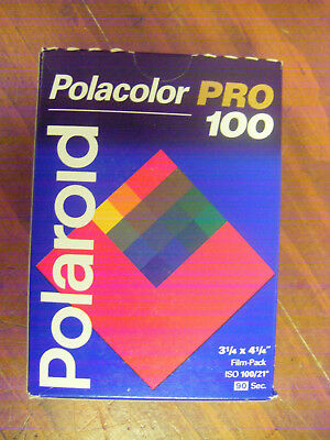Polaroid Pro 100 Film Pack Use by 08/97