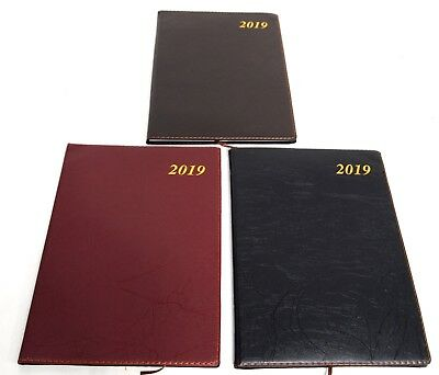 2019 Large Diary - Two Days Diaries Planner New Year Notebook Address Book