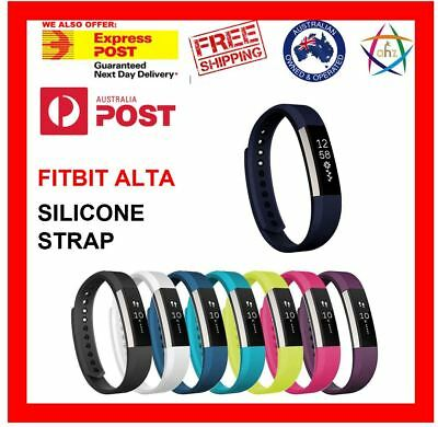 Fitbit Alta HR Replacement Band Secure Strap Wristband Button Bracelet Fitness