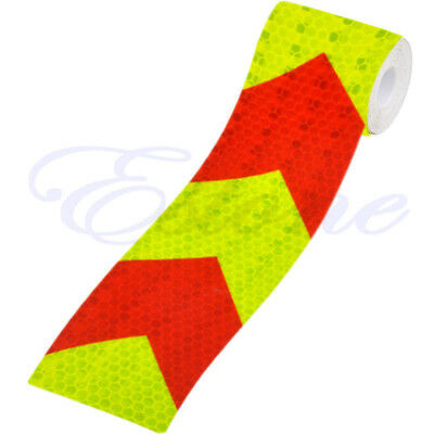 "3M 2""X118"" Night Reflective Safety Warning Conspicuity Tape Strip Arrow Sticker*"