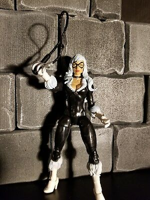 "Black Cat Marvel Legends Ultimate Green Goblin BAF Wave 6"" Loose Felicia Hardy"