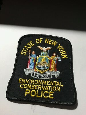 Old New York NY State Enviro Conservation Fish and Game Police Patch