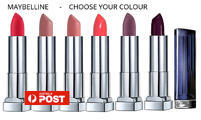 MAYBELLINE COLOUR SENSATIONAL LIPSTICK choose your colour BRAND NEW sealed