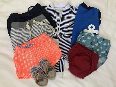 3-6 Month Boy Summer Clothes Incl. Seed And Country Road (pack of 8 Items)