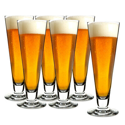 NEW Schott Zwiesel Pilsner Beer Glass Set 6pce