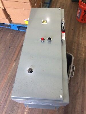 Square D Size 3  -  100 Amp Disconnect Starter Combination - Used