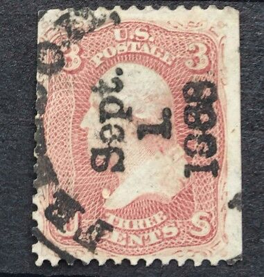 United States Stamp Used 3 Cent