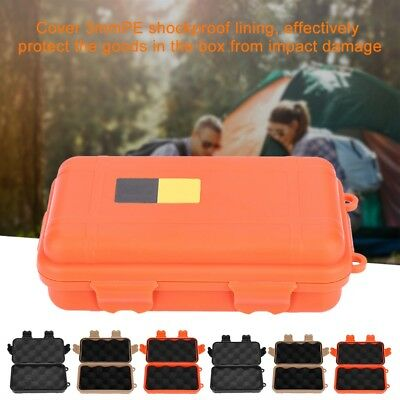 6 Colors Outdoor Plastic Waterproof Airtight Survival Case Container Storage Box