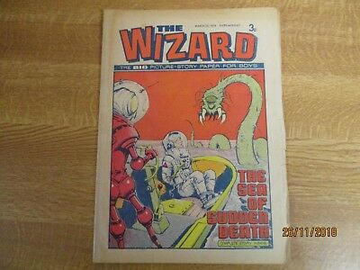 March 23rd 1974, THE WIZARD, Raoul Ourvois, George Sherman, Pietro Comiti.