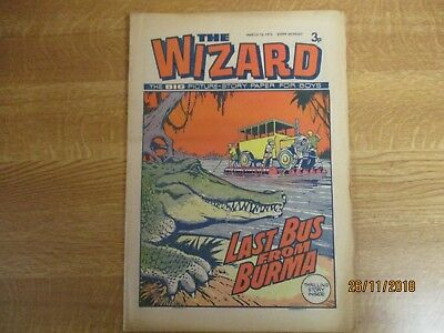 March 16th 1974, THE WIZARD, Kenneth Outwaite, Antonio Suamerz, Sly Old Fox.