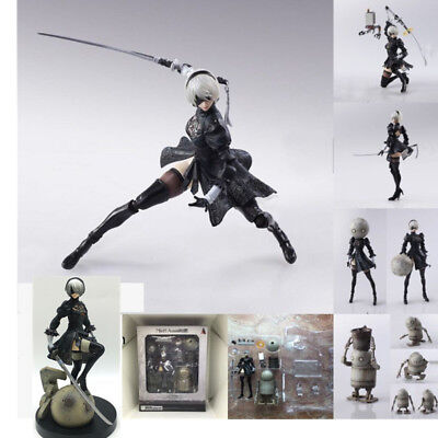 NieR Automata 2b FIGMA Action Figure Bring Arts playarts Kai Figurine Game Toy