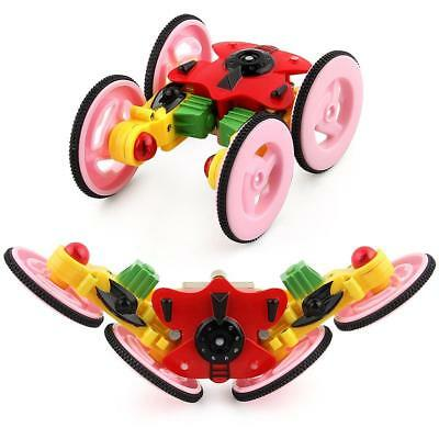 Light Remote Control Car Toy Dual Mode 360° Rotating Stunt Rechargeable Vehicle