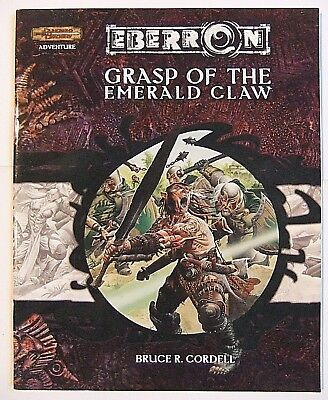 GRASP OF THE EMERALD CLAW, D&D 3e, DUNGEONS & DRAGONS, EBERRON