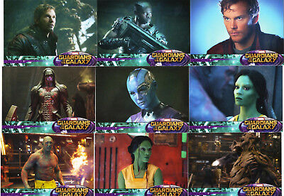 Marvel Guardians of the Galaxy 2014 - Upper Deck - 90 Card Retail Base Set