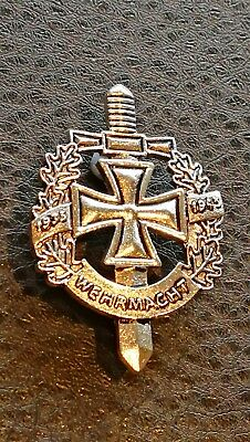 Collectable WW2 German 1938/1945 military Wehrmacht pin badge Medal Militaria