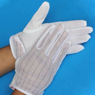 10pairs Anti-static gloves Dust-proof skid-proof gloves Protective Safety gloves