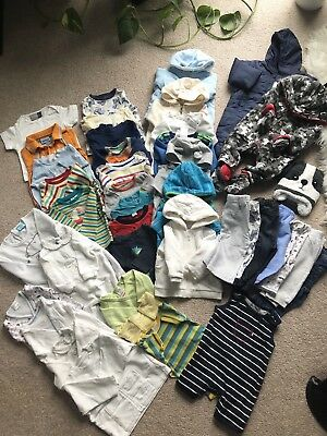 Huge 41 Items Baby Boy Clothes Bundle 3-6months Winter, Autumn
