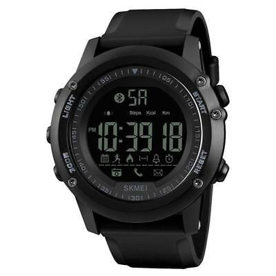 SKMEI Men's Smart Watch Waterproof LED Digital Bluetooth Sports For iOS Android