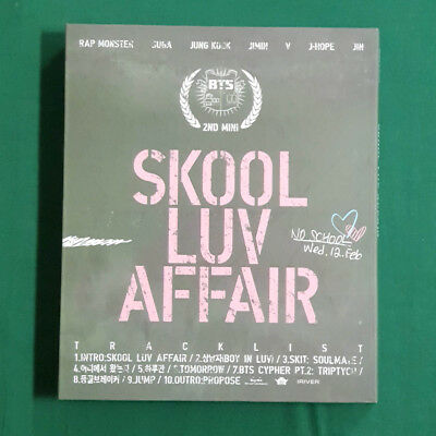 [Pre-Owned/ No Photocard] BTS 2nd Mini Album Skool Luv Affair - CD/ Booklet