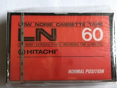 Hitachi Ln 60 Factory Sealed Audio Cassette Japan