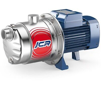 SELF PRIMING PEDROLLO  ELECTRIC JET  WATER PUMP  JCRM1A-N 0,75Hp 240V
