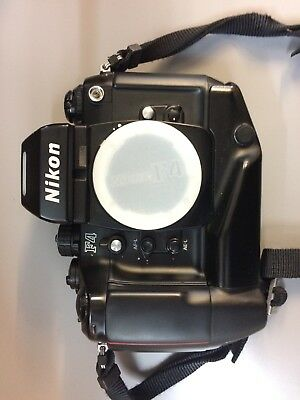 Nikon F4 35mm SLR Film Camera with MB-21 Battery Grip. Excellent Condition