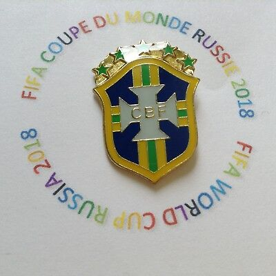 Pins Pin's Bresil Fifa Coupe Du Monde Football  World Cup Russia 2018