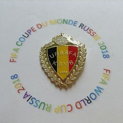 Pins Pin's Belgique Fifa Coupe Du Monde Football  World Cup Russia 2018