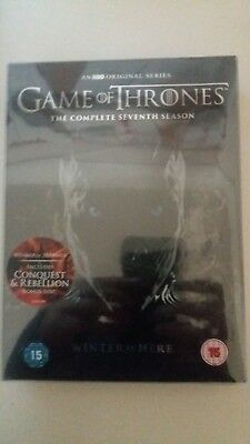 """Game Of Thrones Complete Seventh Season DVD """"Brand New & Sealed"""""""