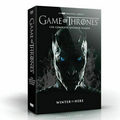 Game of Thrones: The Complete Seventh Season 7 (DVD, 2017, 5-Disc Box Set) new