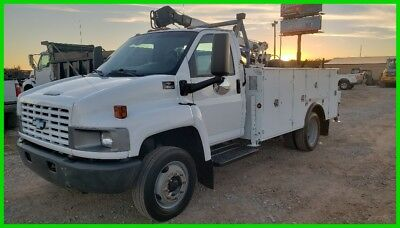 2004 Chevrolet C4500 7500lb crane 11ft Mechanics Service Utility Bed 8.1L Gas