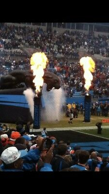 Carolina Panthers vs New Orleans Saints 5 tickets Lower Level