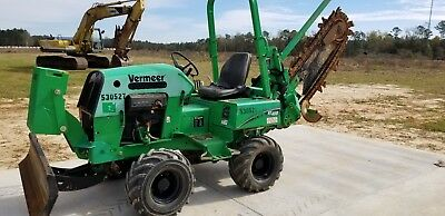 2013 Vermeer RT450 Ride On Trencher Only 667 Hours