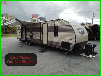 2017 Forest River Cherokee Grey Wolf 29TE Used Towable Travel Trailer Bunk House