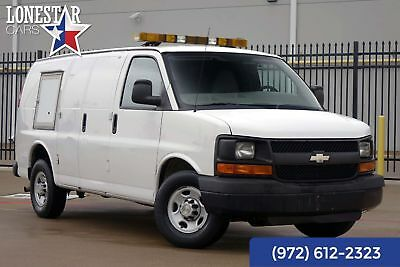 2010 Chevrolet G2500 Van Express Animal Control Van Rear Air One Owner 2010 White Express Animal Control Van Rear Air One Owner!