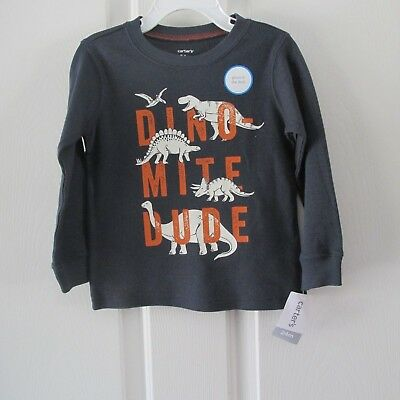Boys Carter's Glow In The Dark Shirt Nwt Size 12 Months Msrp $14.00