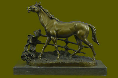 Very Handsome And Elegant Large Bronze Horse Statue Handcrafted Detailed Figurin