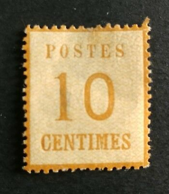 GERMANY STAMP COLLECTION FRENCH TERRITORY 1870 Mi 5 MH SCARCE 99c NO RESERVE