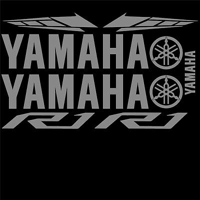 Yamaha Yzf R1 Decals Stickers Vinyl Kit For Motorcycle 2015 To 2019 Style