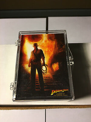 2008 Topps - Indiana Jones Kingdom Crystal Skull Complete Trading Card Set - Mt