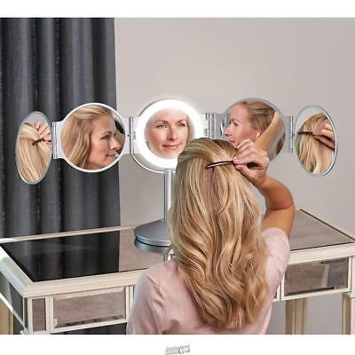 Every Angle LED Mirror DAYLIGHT24 SILVER Make-up lighted Cosmetics vanity Light