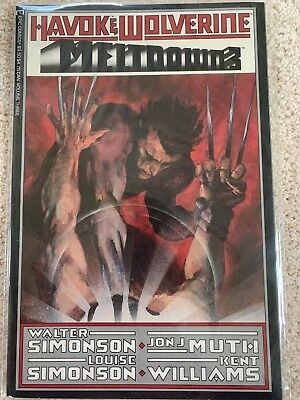 Havok & Wolverine Meltdown #3 VF/NM