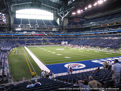 2 NY Giants vs Indianapolis Colts Tickets 12/23 LOWERS Sec 103 Lucas Oil Stadium
