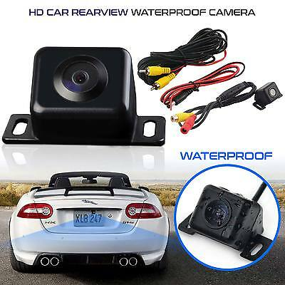 Universal Waterproof Car Backup Rear View Reverse Camera 170° Parking Sensor Kit