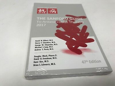 The Sanford Guide to Antimicrobial Therapy, 2017, 47th Edition, paperback