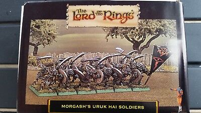 Harlequin Miniatures Lord of the Rings Mordgash's Uruk Hai Soldiers set D&D