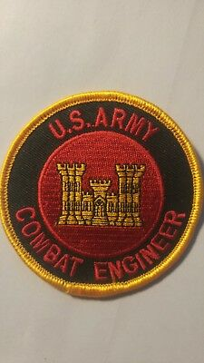 US ARMY COMBAT ENGINEER embroidered patch