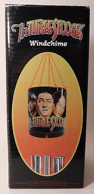 1 New Old Stock WINDCHIME the Late and Famous THREE STOOGES Movie Stars